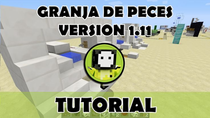 Tutorial Minecraft | Granja de peces  1.11 (AFK)