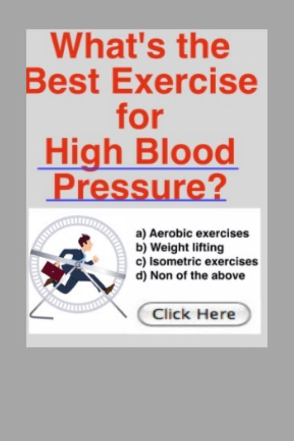 Discover The Best Exercise For High Blood Pressure Affiliatelink