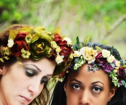 fairy flower crowns <3