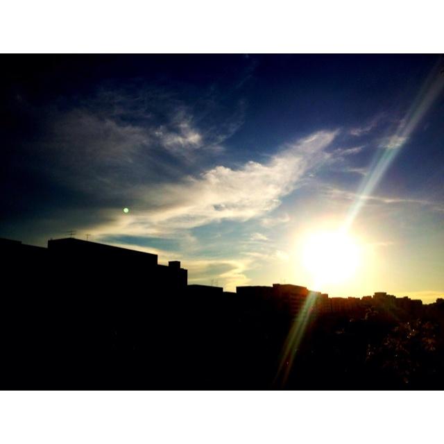 Sunset 8 May 2012