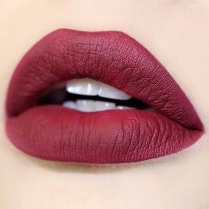 ❤️ Wine colored lipstick for fall  For a similar look check out Nu Evolution lipstick in Chianti.