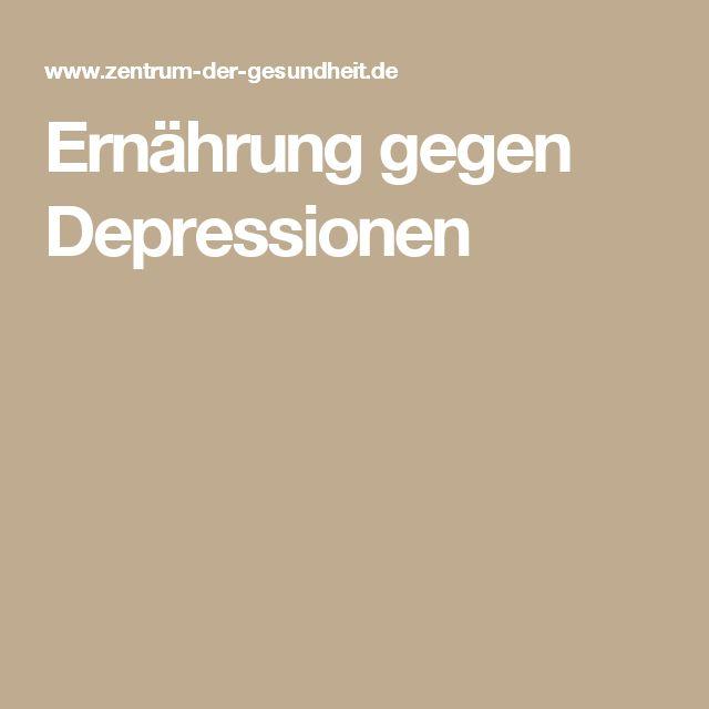 Ernährung gegen Depressionen