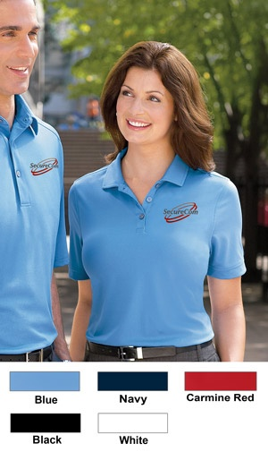 Ashworth Embroidered Golf Shirt For Women $64.98