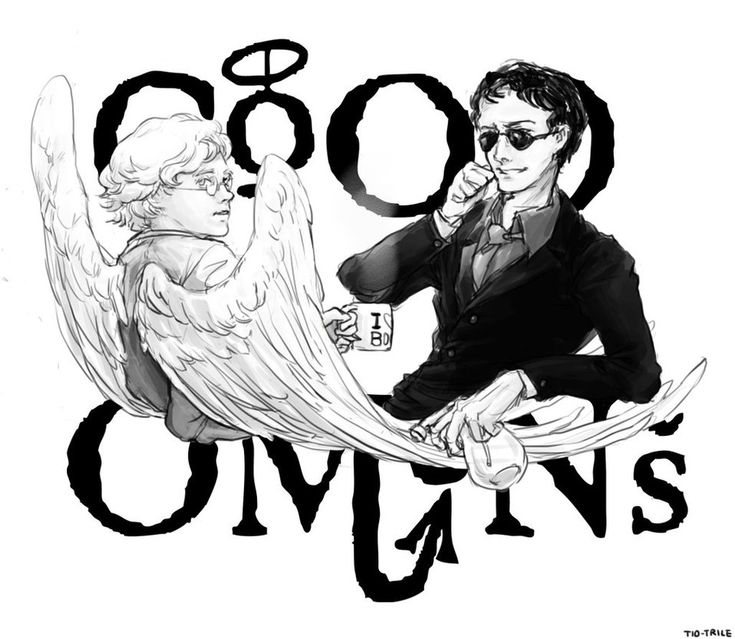 Good Omens by ~Tio-Trile on deviantART