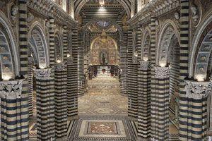 Cathédrale : Parcours 'Gate of haven' : 25€/pers ! Visite guidée sur réservation uniquement ! http://www.operaduomo.siena.it/eng/portadelcielo.htm
