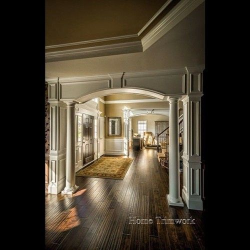17 best images about interior columns on pinterest for Decorative archway mouldings