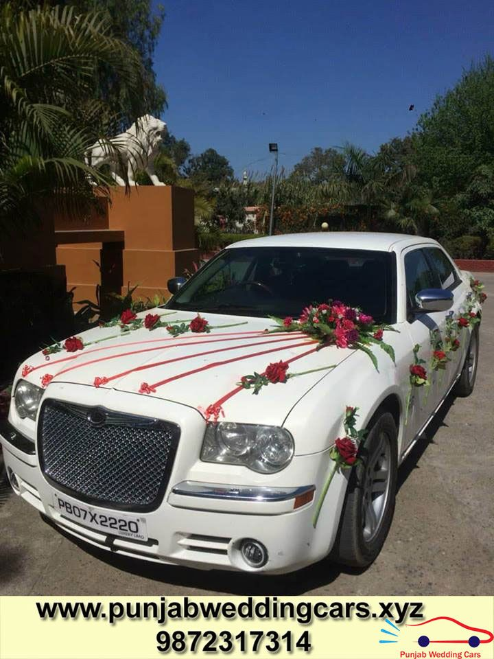 Looking For The Best Rental Wedding Car Chrysler 300 In Punjab If Yes Then You Are At Right Place At P Luxury Car Rental Car Rental Company Best Car Rental
