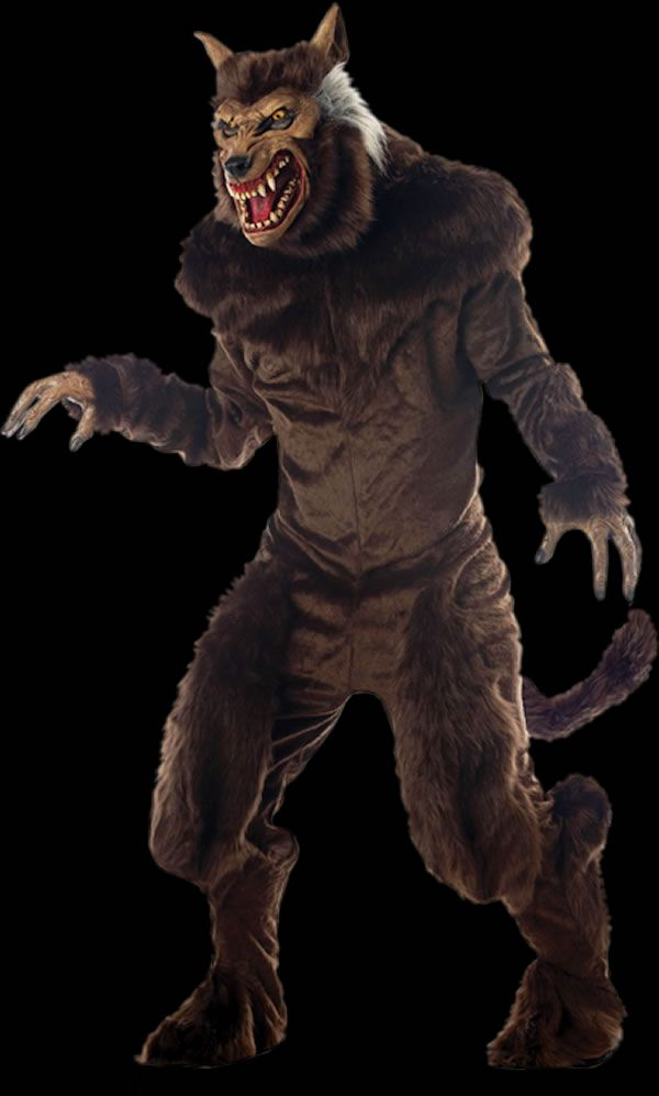 halloween mask werewolf deluxe costume + mask Werewolf Mask Halloween