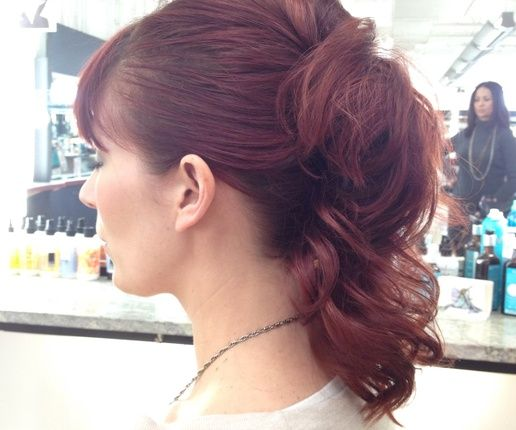 How to Use Banana Clips in 2013 - Up do with banana clips