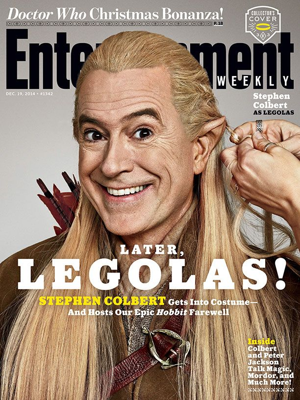 stephen-colbert-dressed-as-bilbo-gandalf-and-legolas-in-ew-hobbit-covers3