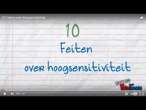 10 Feiten over Hoogsensitiviteit!