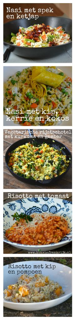Weekend inspiratie; 5 recepten met rijst