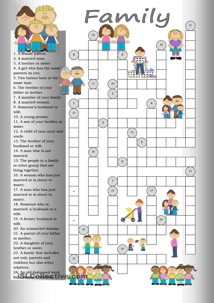 Crossword: Family