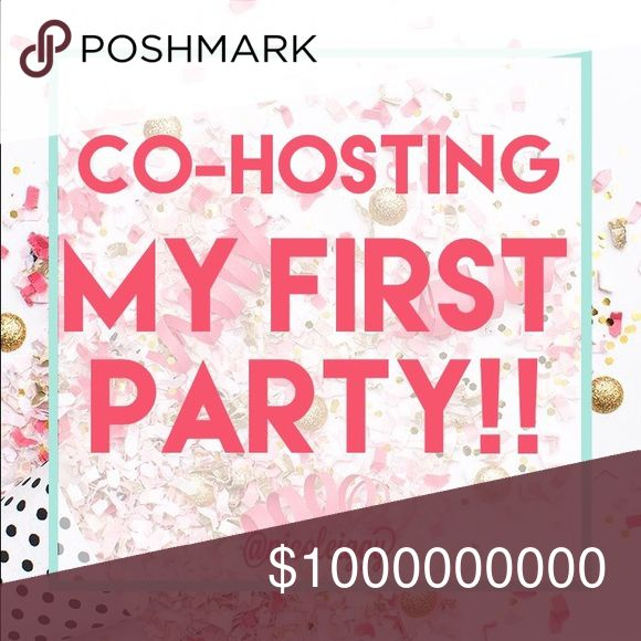Hosting my first party 8/26 at 7pm!!! I'm so excited to host my first party!! More details to come. Like this post to be notified as more info becomes available!! I will pick items as the time gets closer, so please don't tag me YET  Tops