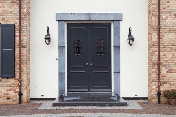 dubbele voordeur met glas - Google zoeken
