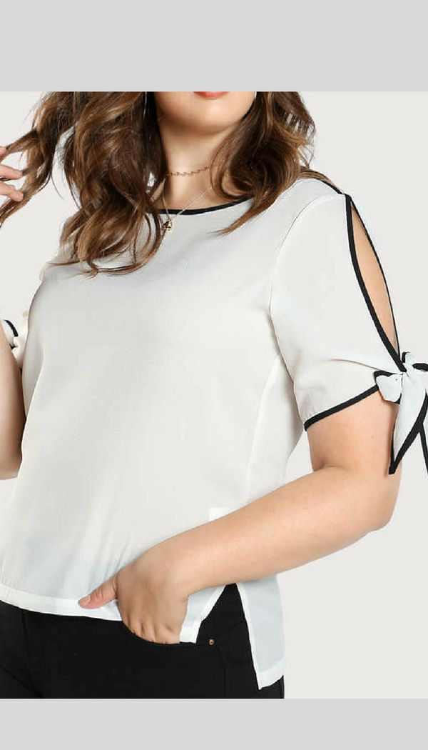 Love the sleeves | plus size |  #plussizetop  #plussizeshirt   #plussizefashion  affiliate