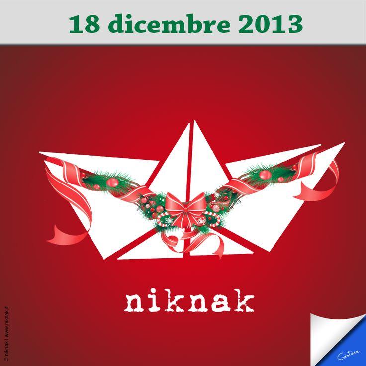 Christmas illustration by niknak | Christmas wreath