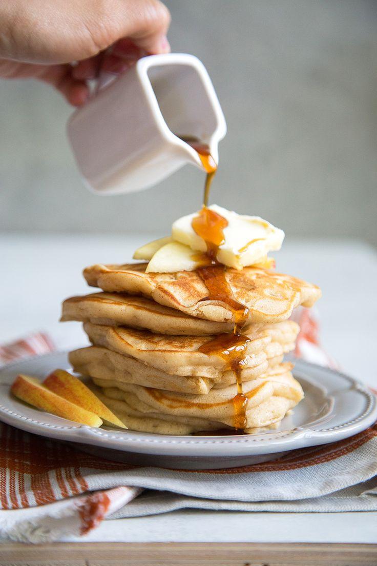 314 best pancake recipes images on pinterest atkins breakfast cinnamon apple pancakes ccuart Images