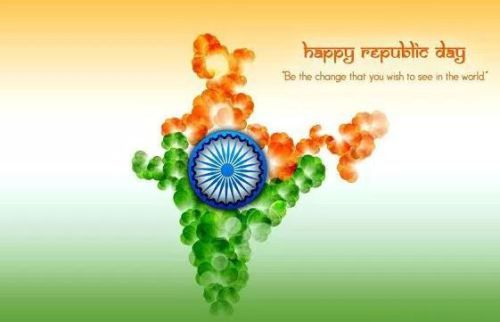 Republic Day Profile Pic-26 January Tiranga Images-National Flag Pics-Messages