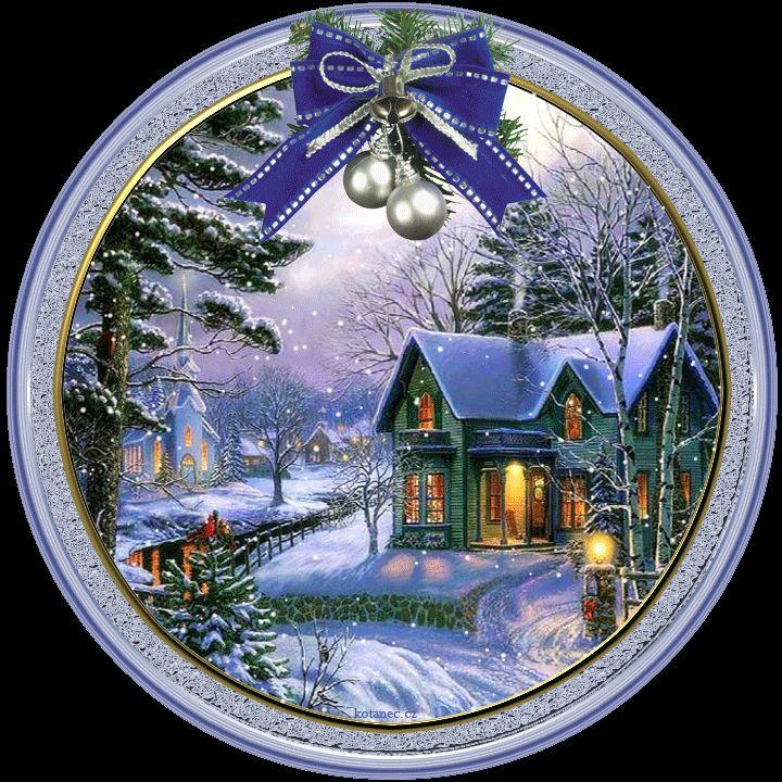 vánoční přání - přáníčka 061