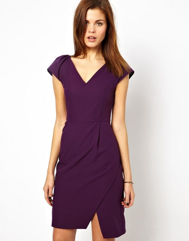A Wear Exclusive V Neck Wrap Dress For My Fall Weddings