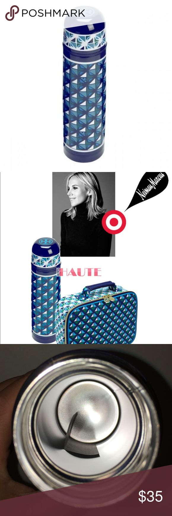 NEW Target Neiman Marcus Tory Burch Thermos Flask NEW. This is from a 2014 collaboration between Target and Neiman Marcus and is now discontinued. Does not come with original packaging and has minor signs of wear on the bottom from being stored in my cabinet. Has not been used. Tory Burch Other