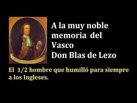 El Quijote Blas de Lezo.
