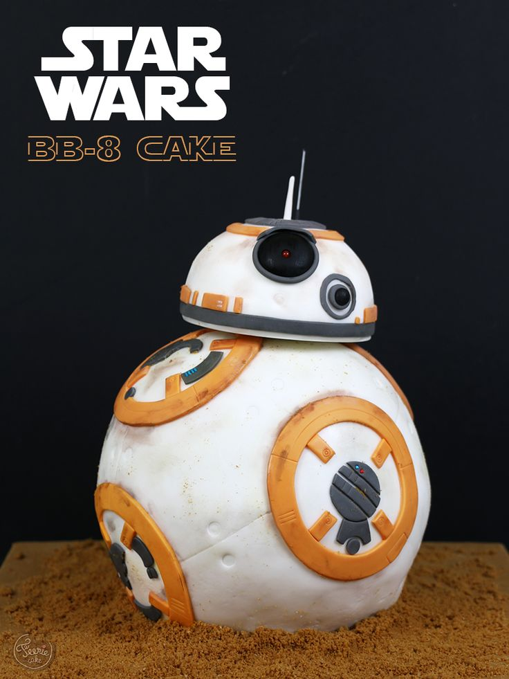 BB-8 cake (Star Wars) - Féerie cake