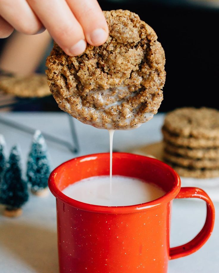 gluten-free espresso almond butter cookies