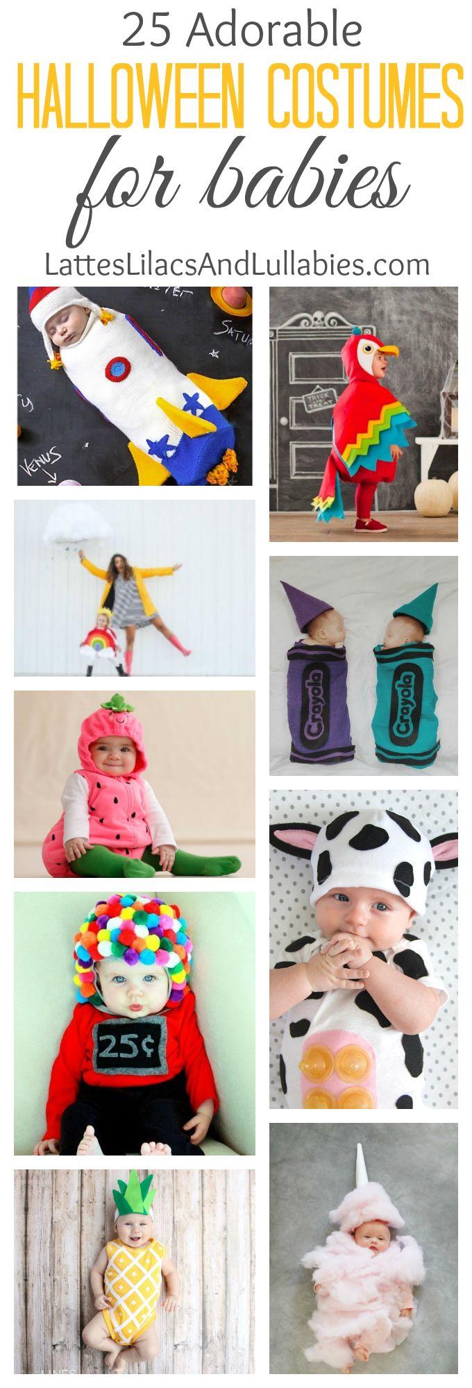 Lattes, Lilacs, & Lullabies - 25 Adorable Halloween Costumes For Babies - Lattes, Lilacs, & Lullabies