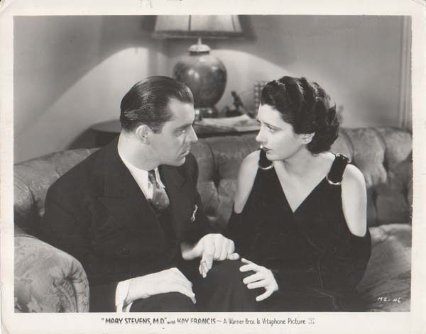 Kay Francis Lyle Talbot in Mary Stevens MD