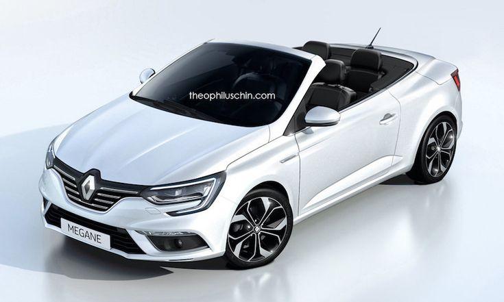 Cette proposition nous dévoile une version de la Renault Megane Cabriolet qui pourrait voir le jour prochainement.
