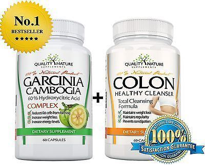 PURE-GARCINIA-CAMBOGIA-EXTRACT-COLON-Cleanse-DETOX-Weight-Loss-Diet-Pill