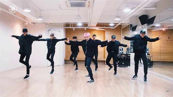 MONSTA X Fighter dance practice (mirror)