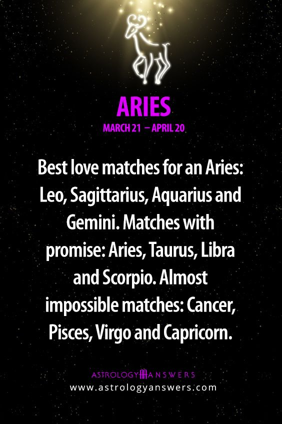 Aries and Aquarius - Compatibility in Sex love and Life