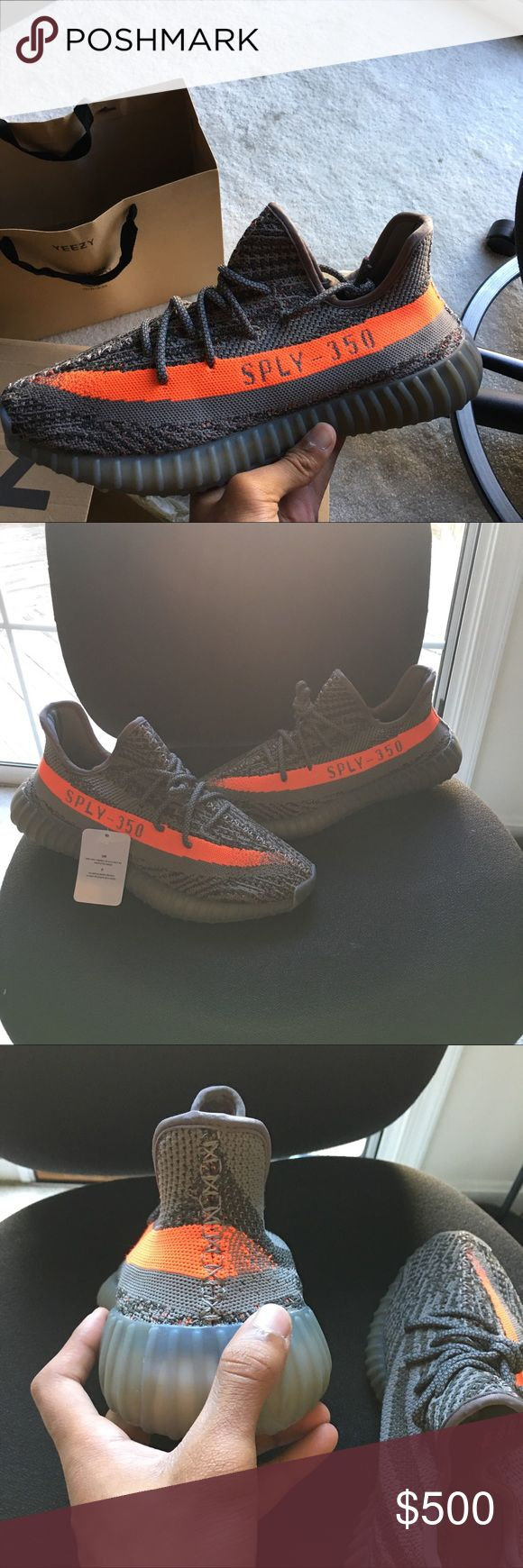 Authentic Yeez V2 Beluga Yeezy V2 Beluga size 10 comes with the  receipt that adidas sent with the shoes, also of ruse the original box and bag. I AM taking offers for these. Hit me with an offer and I'll see what negotiations we can work out. I actually can't fit these shoes they hurt my feet now for some odd reason so I am selling them. Yes they have been tried on but I never went anywhere with them. The shoes have been in the box for a while they are like new. Letting go for a decent…