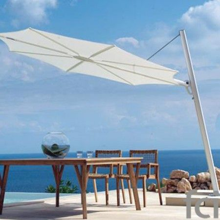 Fan Garden #Umbrellas & #Accessories by #Unopiu starting from £350. Showroom open 7 days a week. #fcilondon #furniture_showroom_london #furniture_stores_london #Unopiu_garden_furniture #Unopiu_outdoor_furniture #Modern_Outdoor_Furniture