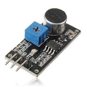 Met deze Geluidsdetectie module sensor kunt u de Arduino laten reageren op geluiden.