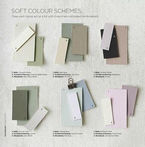 Soft Colour Schemes Farrow Amp Ball