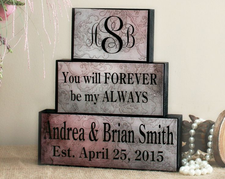 Unique traditional gift for engagement, bridal shower, wedding or anniversaries. Personalize the set
