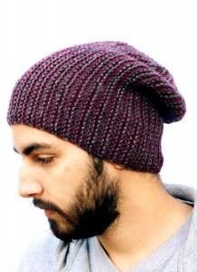 Hat Knitting Pattern Not In The Round : 17 Best ideas about Slouchy Beanie Pattern on Pinterest Crochet slouchy hat...