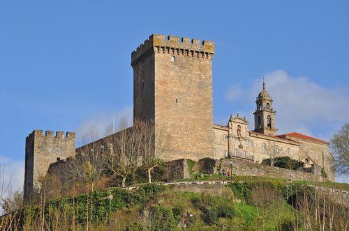 Castillo de Monforte de Lemos. Lugo