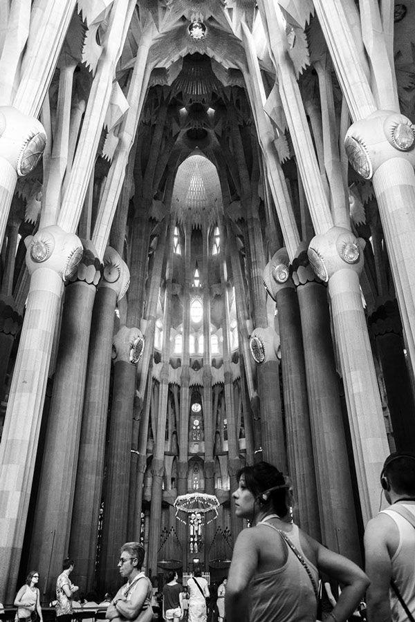 Antoni Gaudí • La Sagrada Familia • Barcelona • Spain on Behance