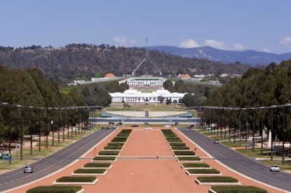 Photo canberra parlamento australiano in Canberra - Pictures and Images of Canberra