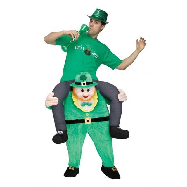 Produktmerkmale Carry Me Kobold KostümMaße: Einheitsgröße für ErwachseneMaterial: aus PolyesterFarbe: multicolorVerpackung: in PolybeutelHinweis: von Feuer fernhalten Maße: 40x60