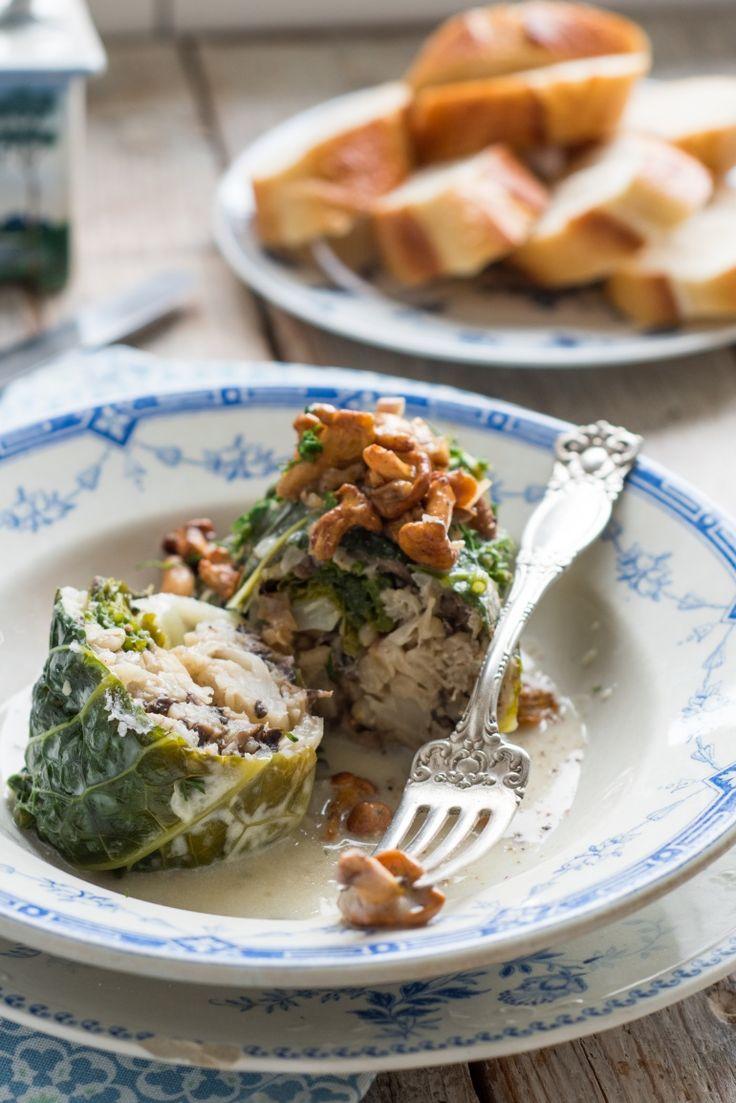 wegetariańskie gołąbki / kuchnia agaty