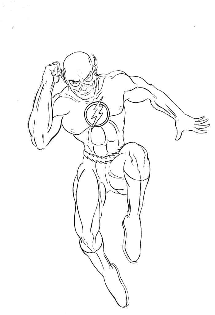 The Flash And Reverse Flash Coloring Pages Superhero Coloring Pages Coloring Pages Superhero Coloring