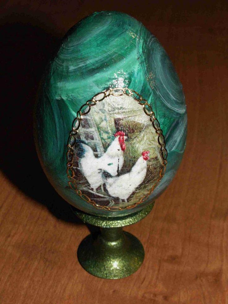 Малахитовое яйцо к Пасхе http://dcpg.ru/blogs/4755/ Click on photo to see more! Нажмите на фото чтобы увидеть больше! decoupage art craft handmade home decor DIY do it yourself egg