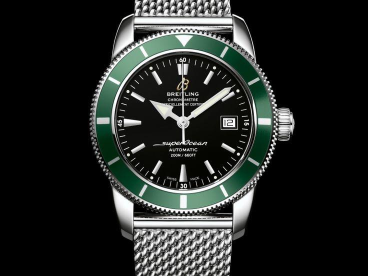 De Breitling Superocean Heritage chronograph horloges zijn klassieke duikhorloges, gebaseerd op Breitling horloges uit de jaren 50.