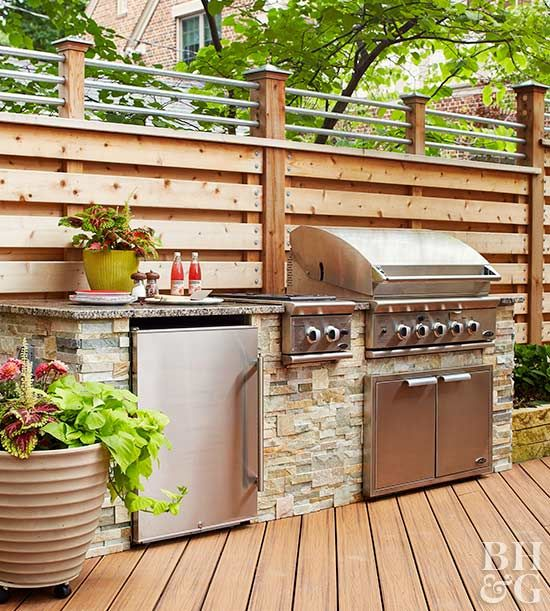 No one wants to run out of gas in the middle of a barbecue, but it's not worth the risk of storing propane tanks in the garage.